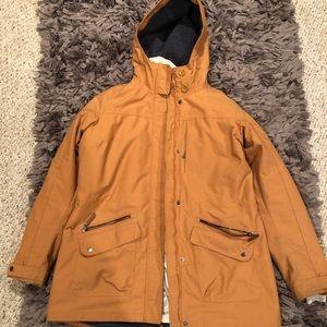 Mustard Yellow Columbia Winter Coat